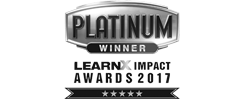 WINNER –   LEARNX IMPACT AWARDS 2017   BEST WELLBEING PROJECT  BEST EMPLOYEE ENGAGEMENT TECHNOLOGY  BEST WELLBEING DIGITAL SOLUTION