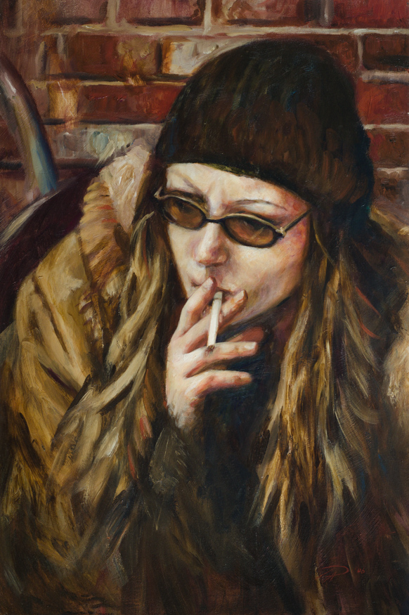 the-smoker-portrait-painting-toronto-art-daniel-anaka (1 of 1).JPG