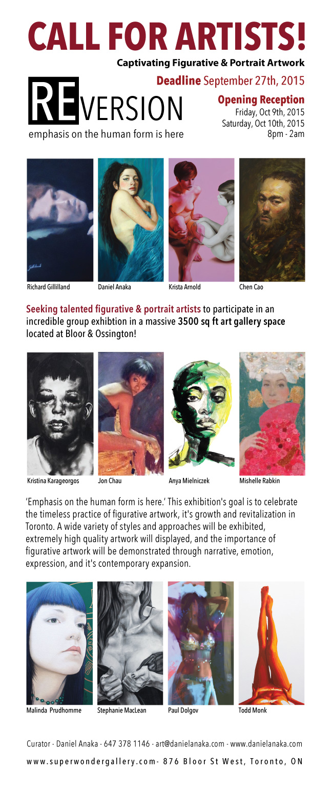 call-for-artists-toronto-portrait-figurative-art