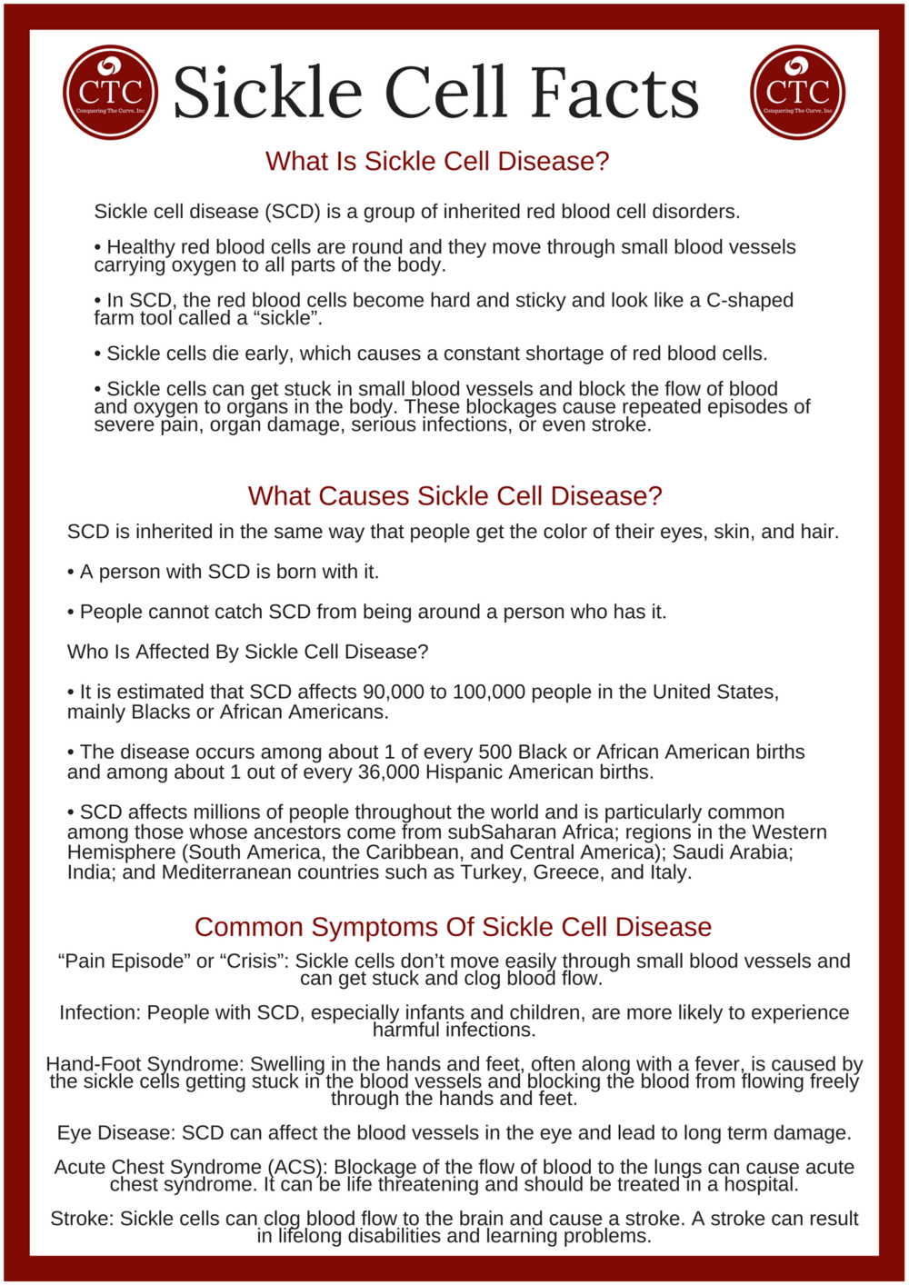 sickle cell facts