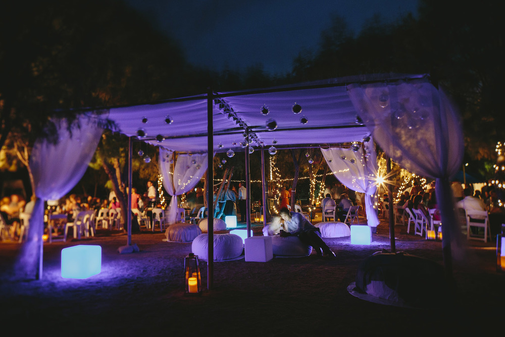 Bamboo Marquee, Led Cubes, Ottomans, Lanterns