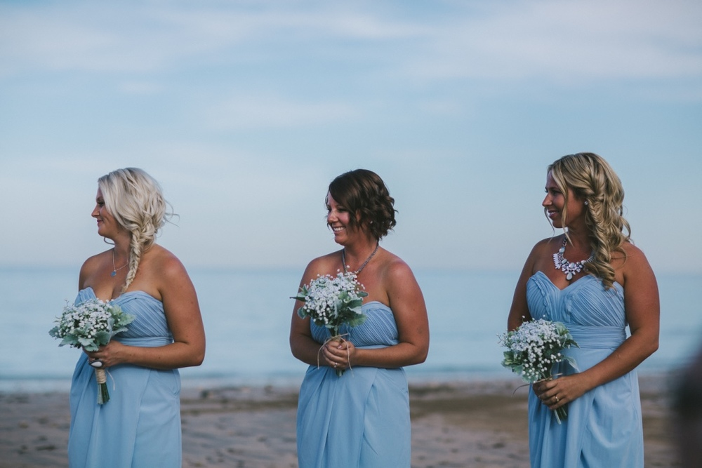 Bridesmaids Floral Arrangements