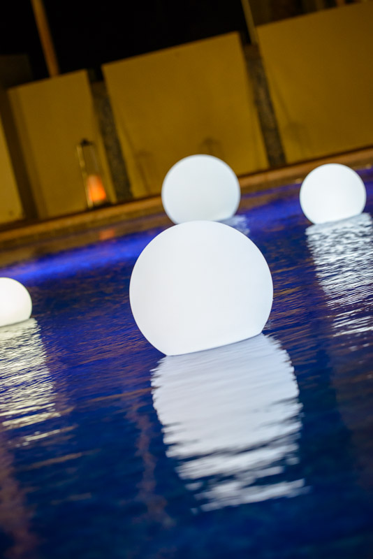 LED Floating Balls