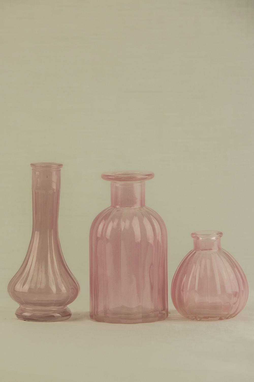Pink Genie Vases