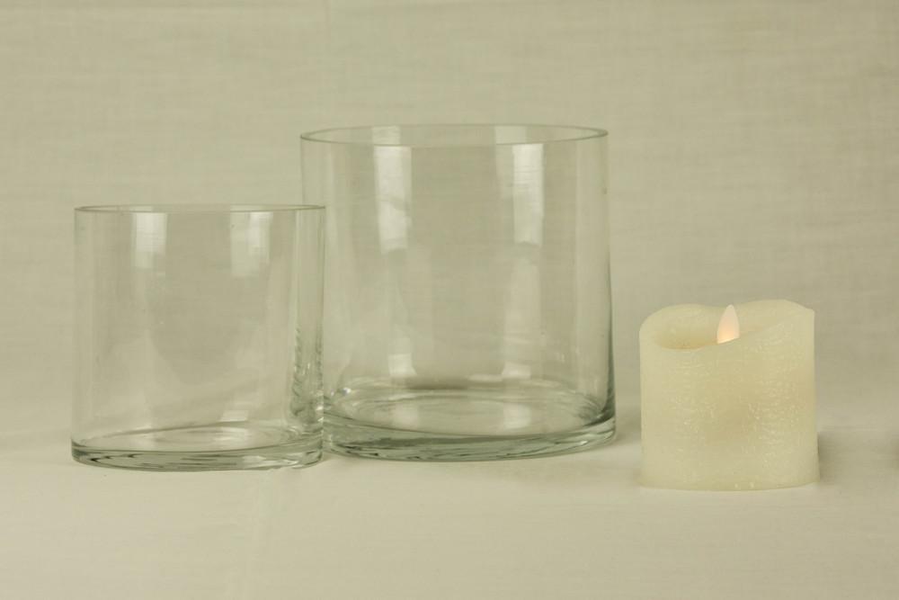 Cylinder Round Vase