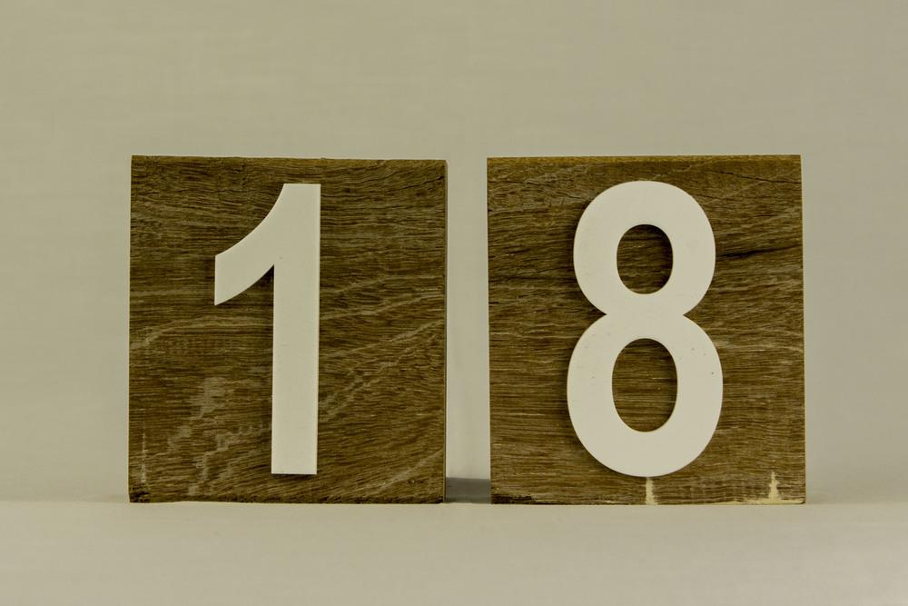 Timber Block Numbers