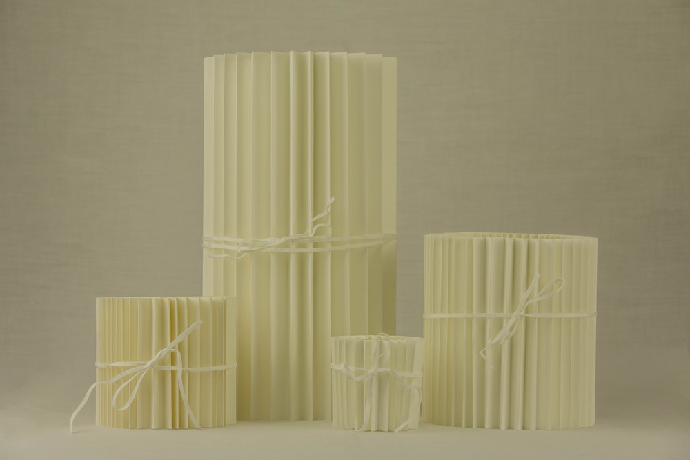Tintra Pleated Paper Votives