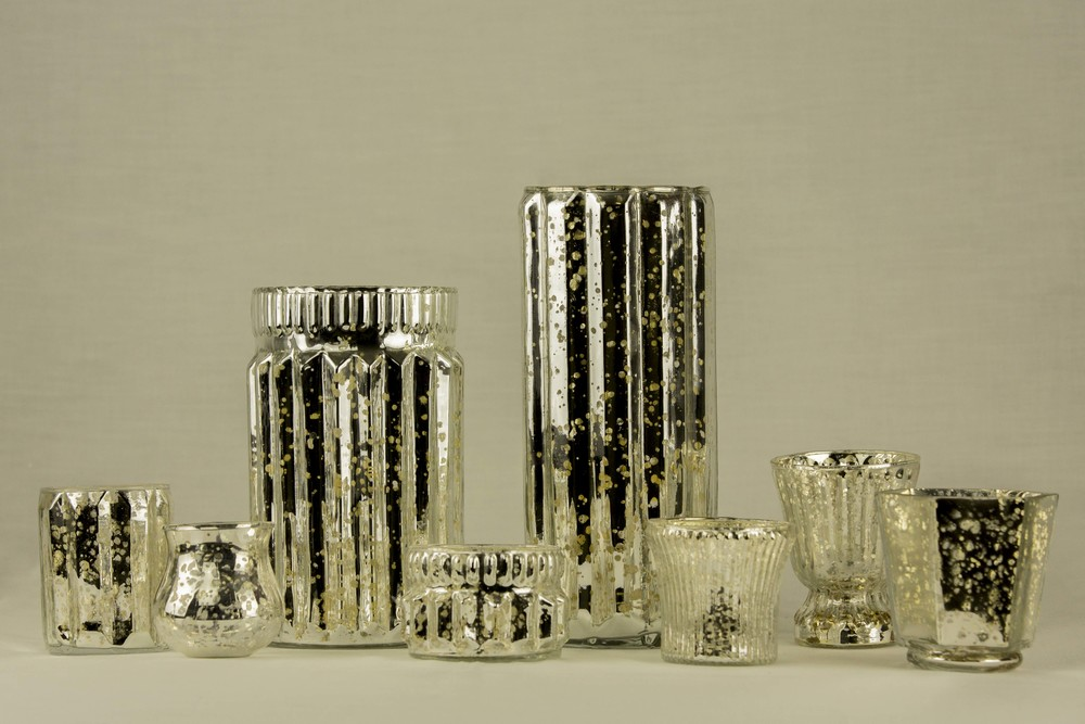Mercury Votives/ Vases