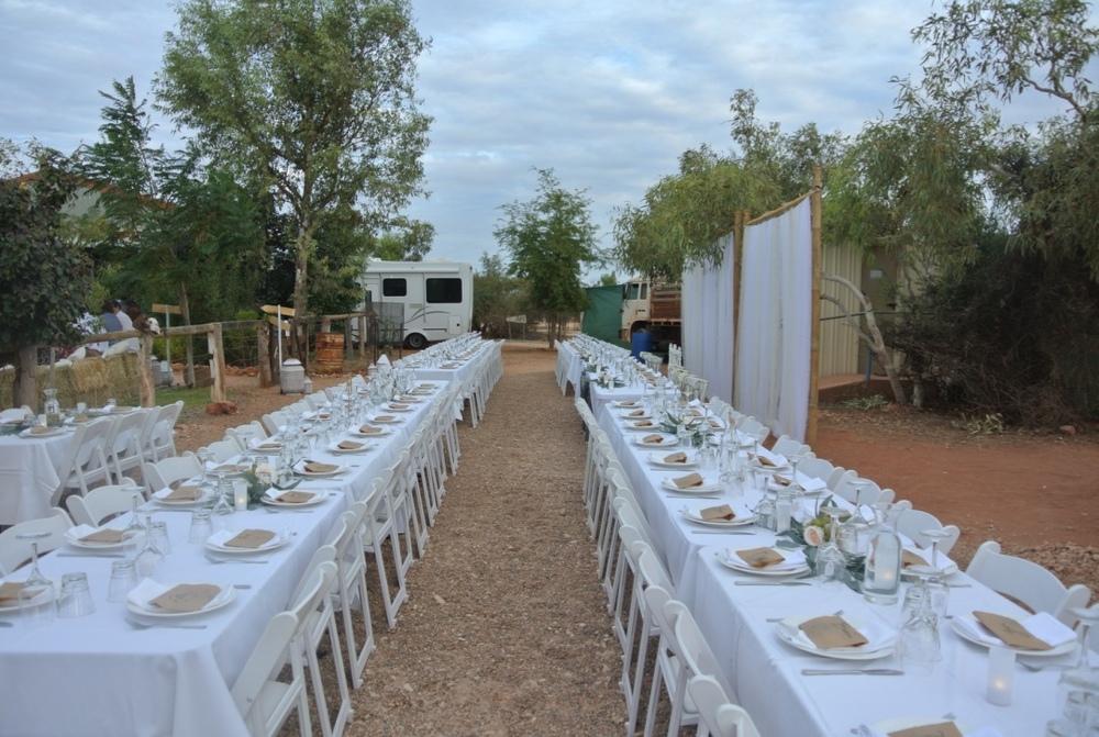 Reception Styling & Setup