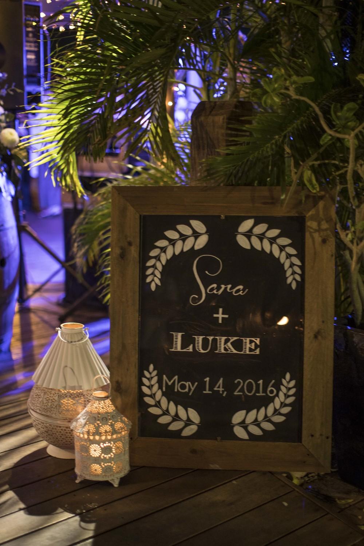 Customised Sign, Twilight Lanterns & LED Candles