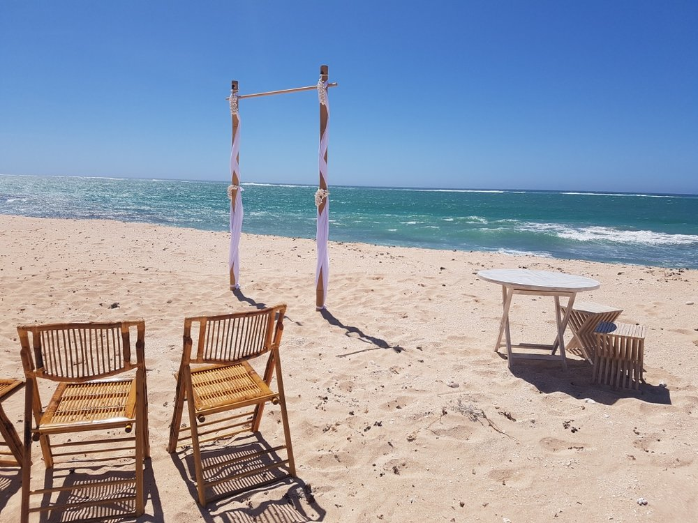 Bamboo Chairs (ceremony only)