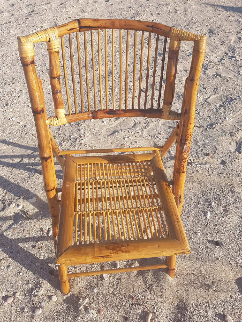 Bamboo Chairs Qty 25