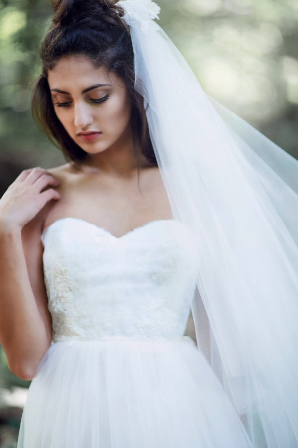 Batilde dress with Elise veil