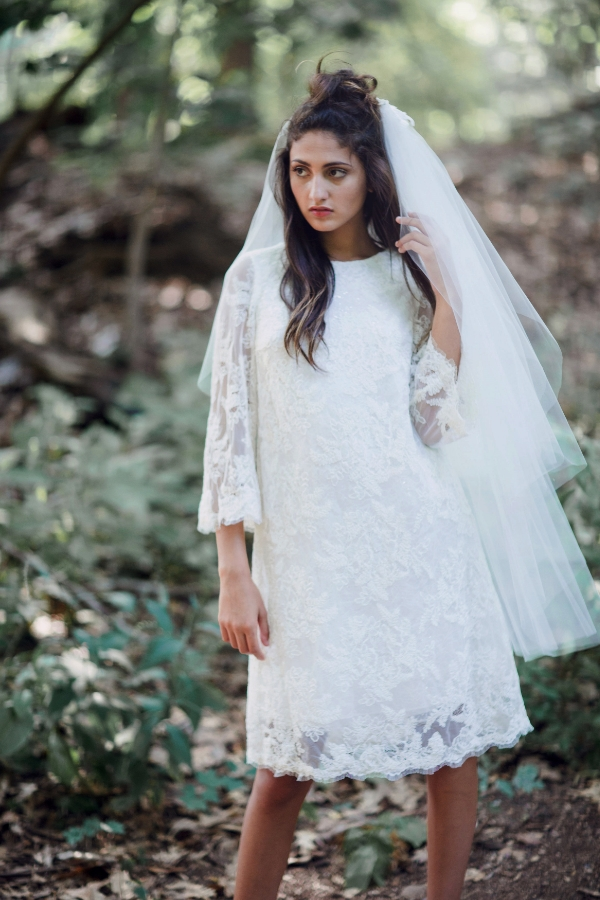 Myrtha dress with Elise veil