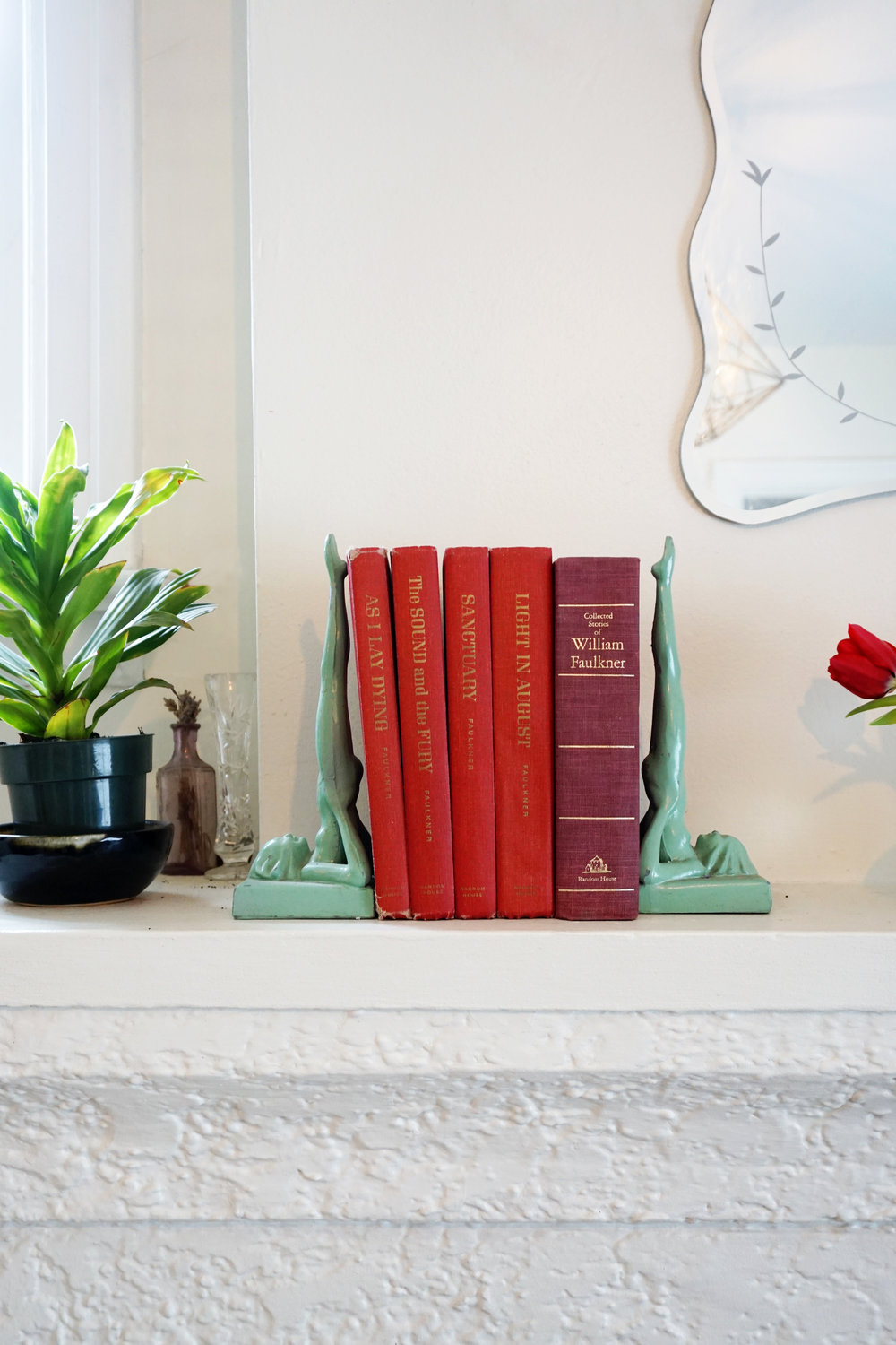 Vintage Bookends Edmonton Home Tour