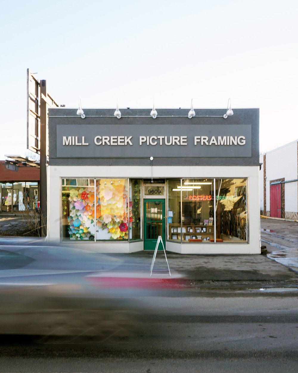 Mill Creek Picture Framing Store Front