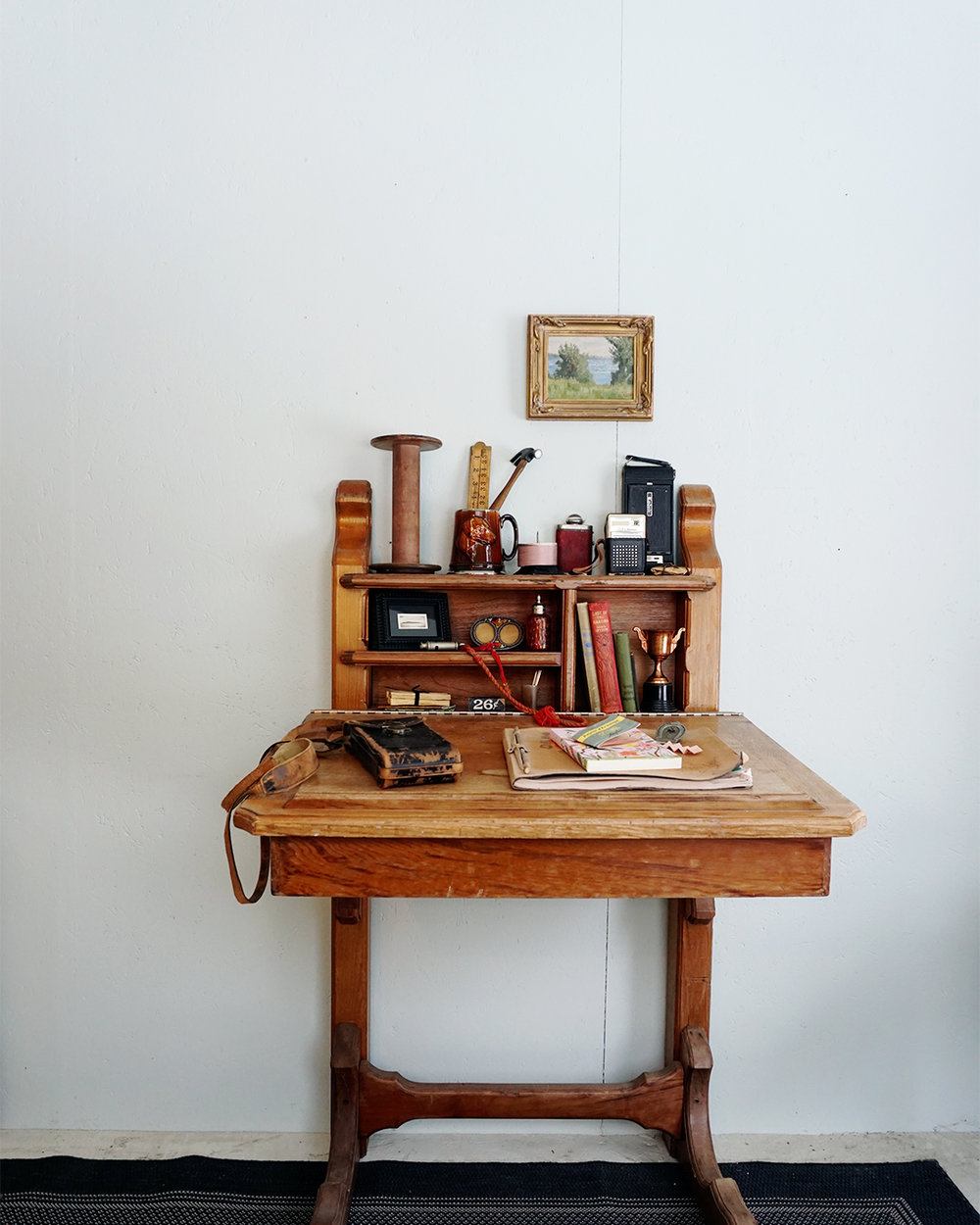 Vintage Desk Styling