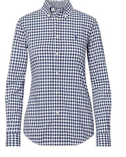 Classic gingham check.