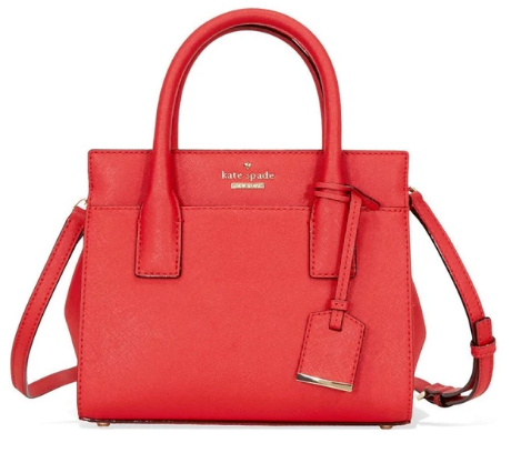 A handbag that looks great year-round
