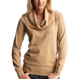 I have this in 2 colors - camel and ivory. And believe it or not it was a Costco find. 100% cotton, so snuggly warm.