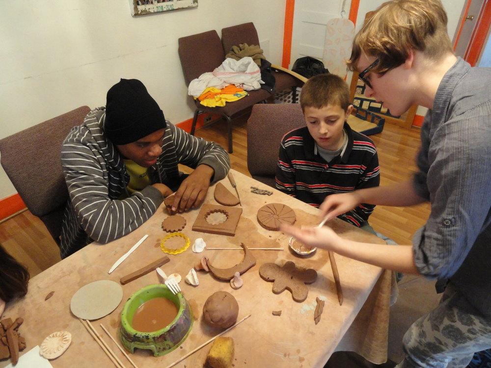 Tile Making Workshop