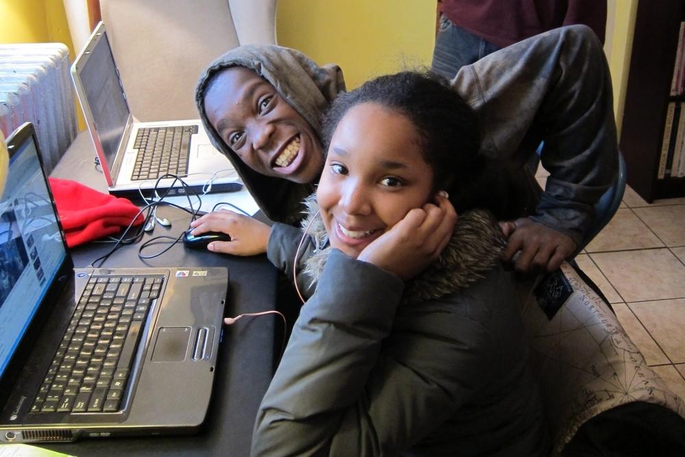 Middle School Students in Philadelphia