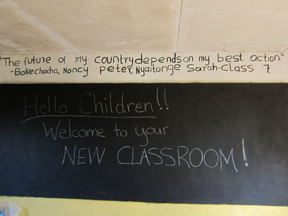 Welcome to your new Classroom!