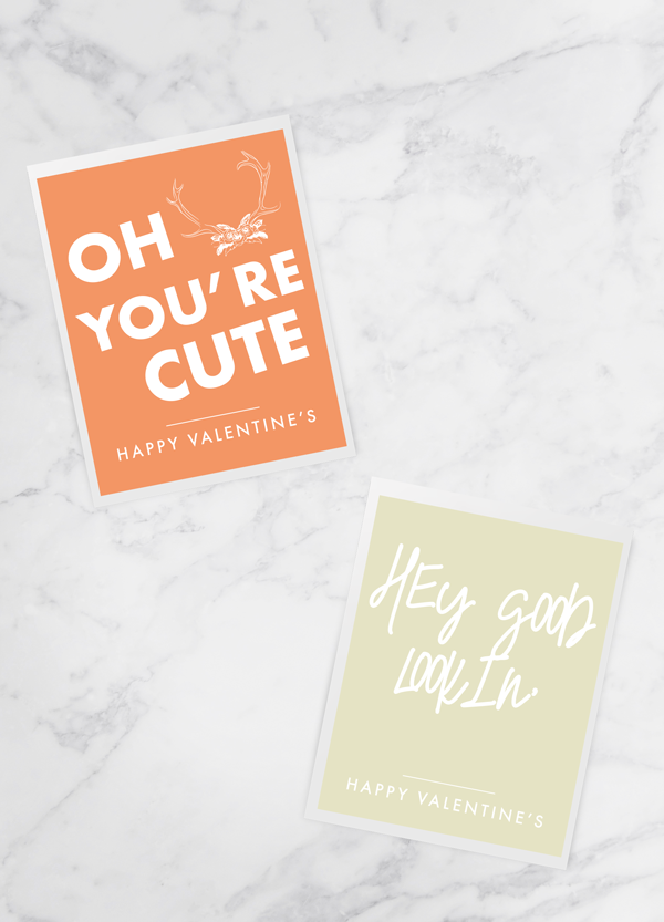 """Printable Valentine Cards"""