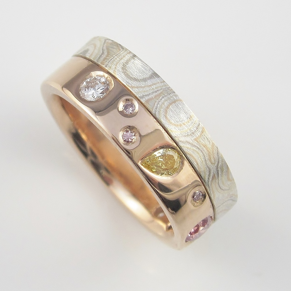 Mokume Gane Diamond