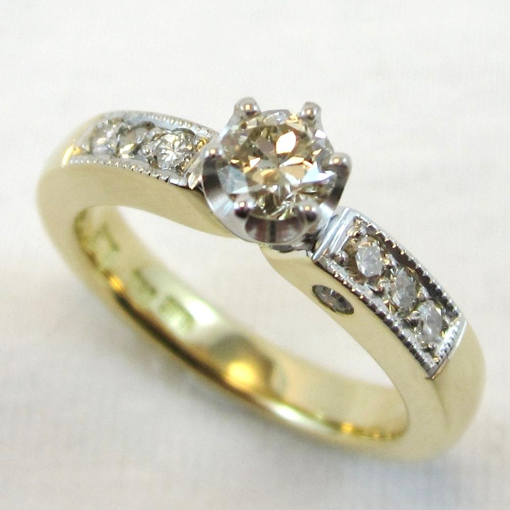 Hidden diamond