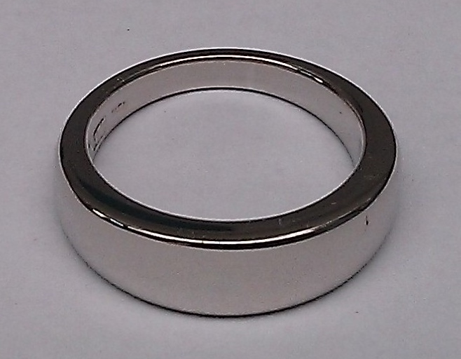 Polished ring.