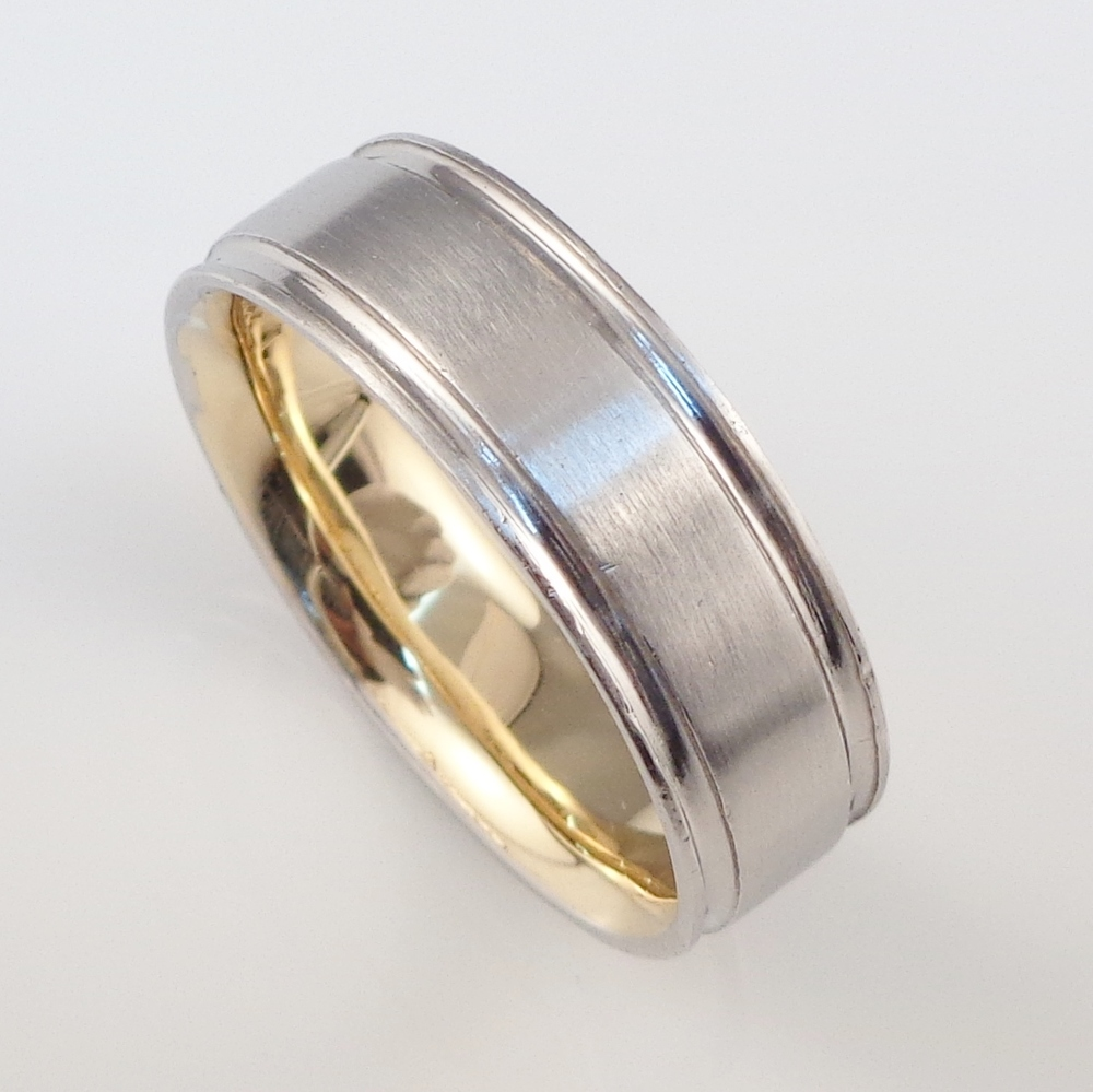 Platinum & 18ct yellow