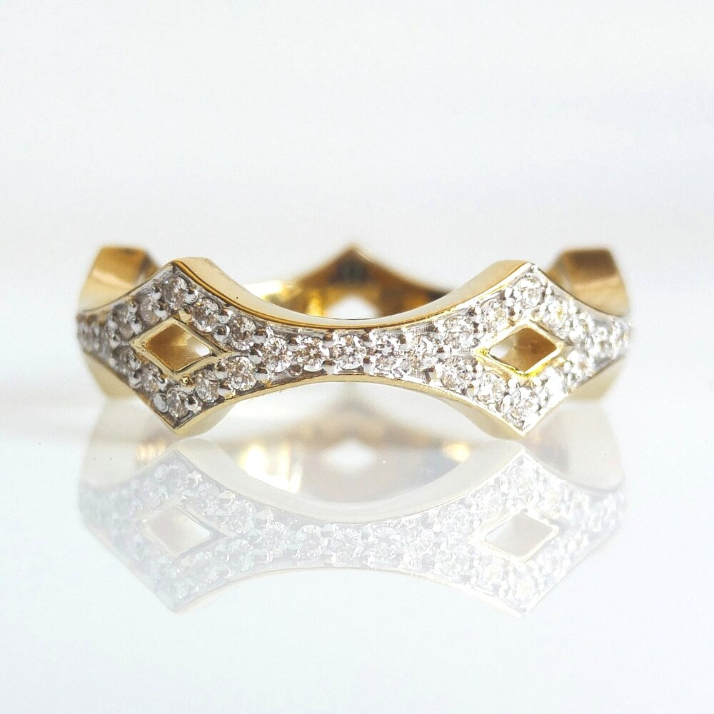 Princess wedding ring