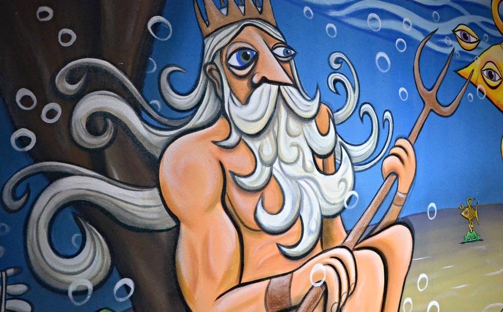 Poseidon's Garden (partial image)