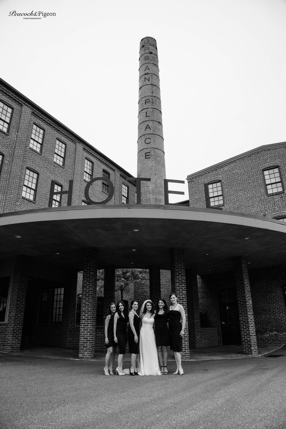Callum_and_Sara's_Wedding_at_the_Cork_Factory_Hotel_in_Lancaster-Part_Two_The_Bride_Bridesmaids_and_Family_Black_and_White_Watermarked-36.jpg