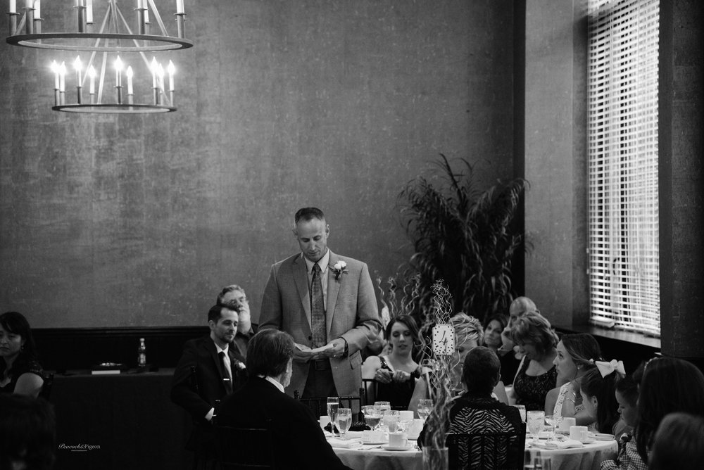 Callum_and_Sara's_Wedding_at_the_Cork_Factory_Hotel_in_Lancaster-Part_Eight_Dinner_and_Speeches_Black_and_White_Watermarked-27.jpg