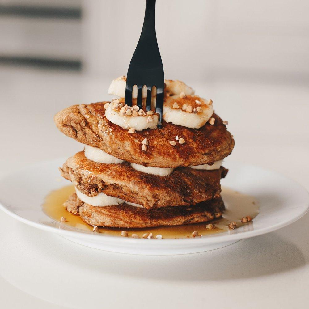 Vegan Pancake Stack