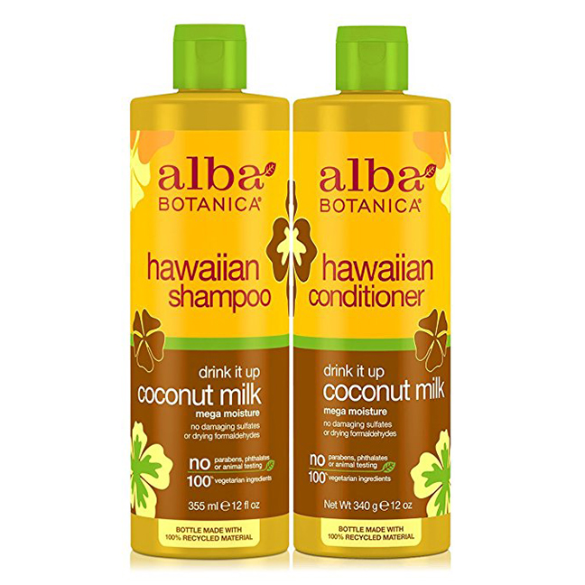 Coconut Milk Shampoo & conditioner  -