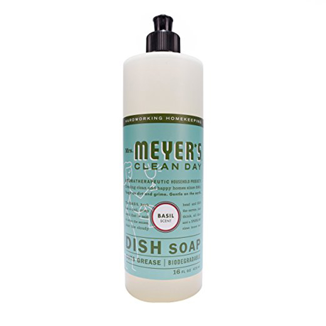 Mrs. Meyer's Clean Day Dish soap  -