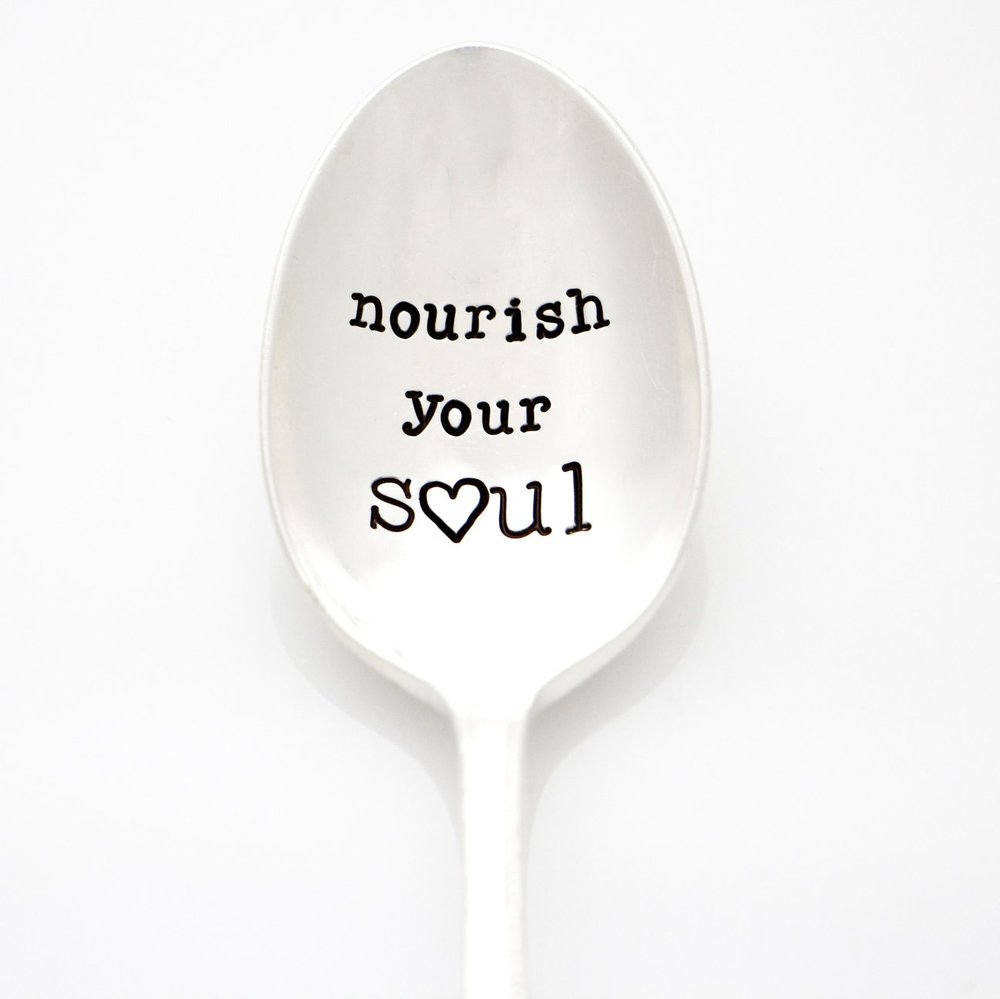 Hand Stamped Spoon -
