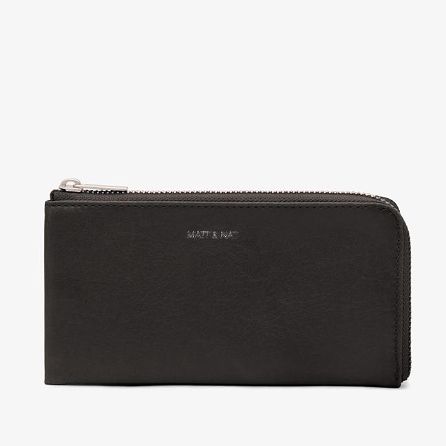 Twin Black Wallet -