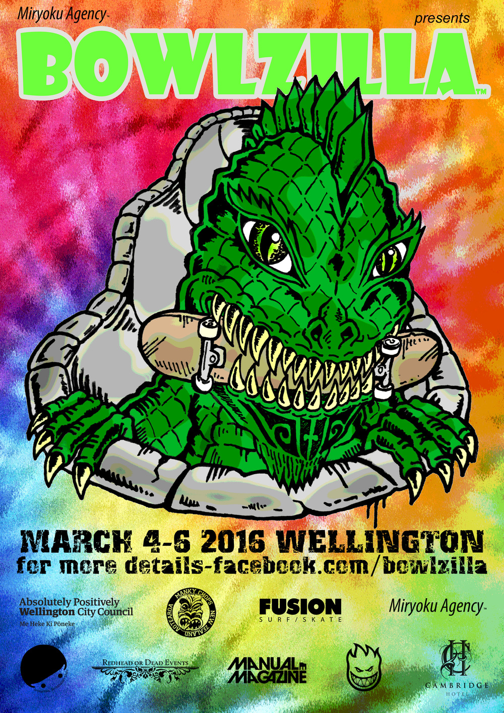 BOWLZILLA Wellington 2016