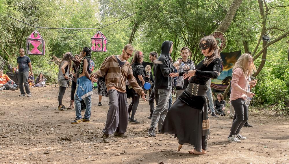 SecretSoma vs Carry On Regardless - London underground psychedelic trance scene