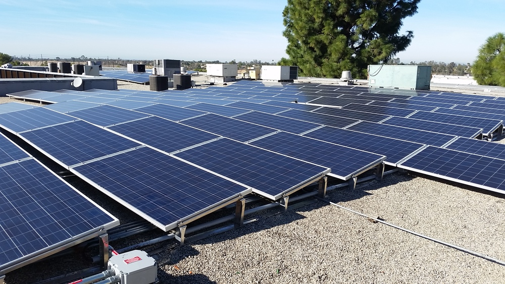42kW   Solar for Good™ installation at  The Unity Center, San Diego, CA