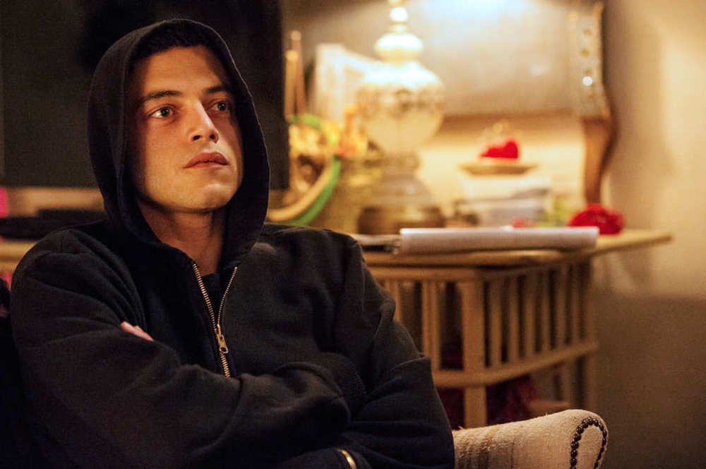 Rami Malek as Elliot Alderson in  Mr. Robot .    Photo: David Giesbrecht/USA Network