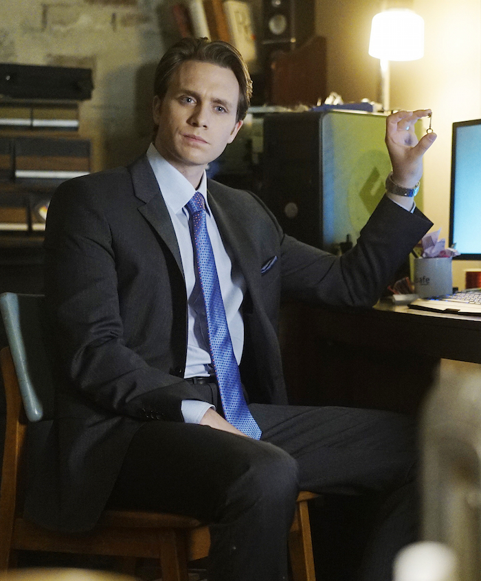 "MR. ROBOT — ""da3m0ns.mp4"" — Pictured: Martin Wallström as Tyrell Wellick — (Photo by: Peter Kramer/USA Network)"