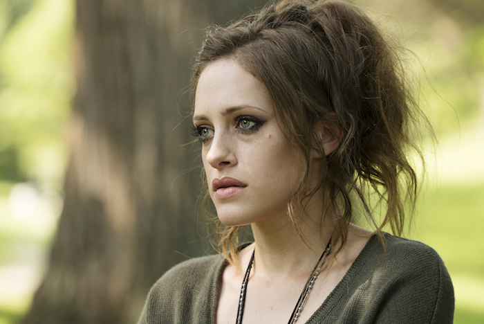 "MR. ROBOT — ""m1rr0r1ng.qt"" \Pictured: Carly Chaikin as Darlene — (Photo by: Virginia Sherwood/USA Network)"