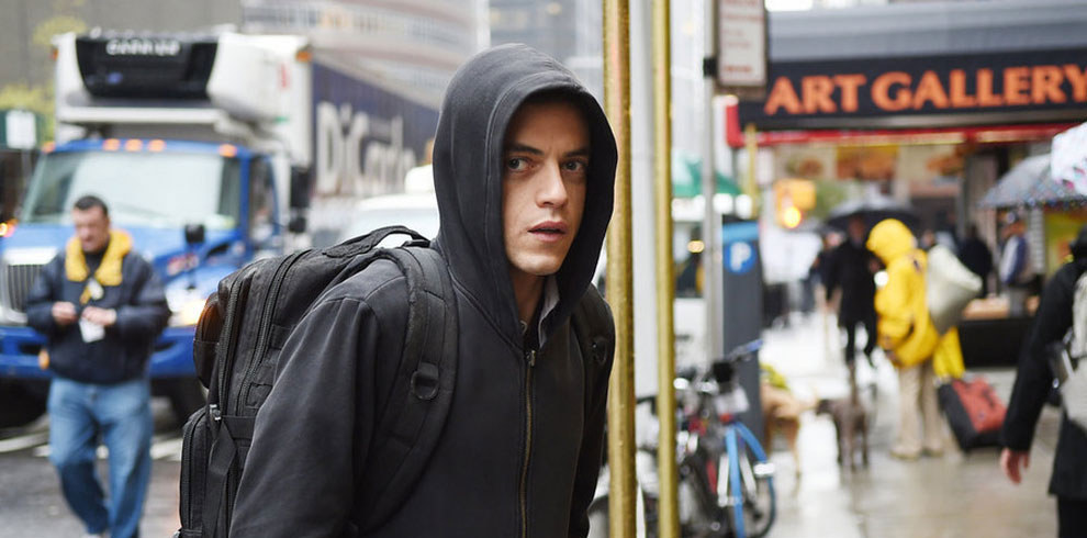 Malek as Elliot in  Mr. Robot .   Sarah Shatz / USA Network