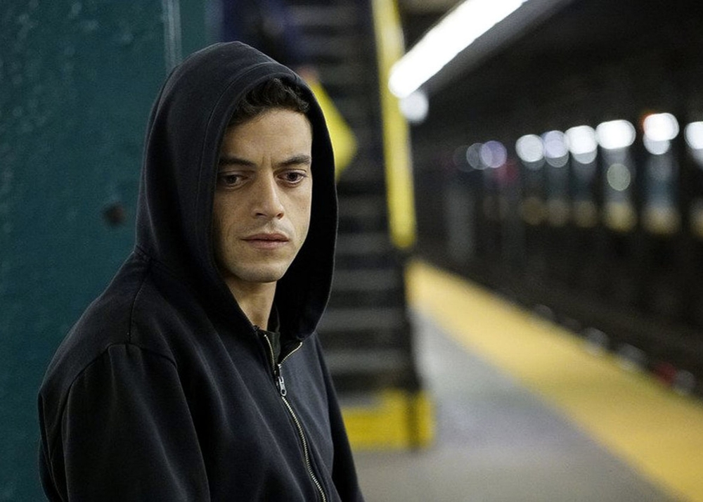 Rami Malek in   Mr. Robot  .   Photo by Peter Kramer/USA Network Media