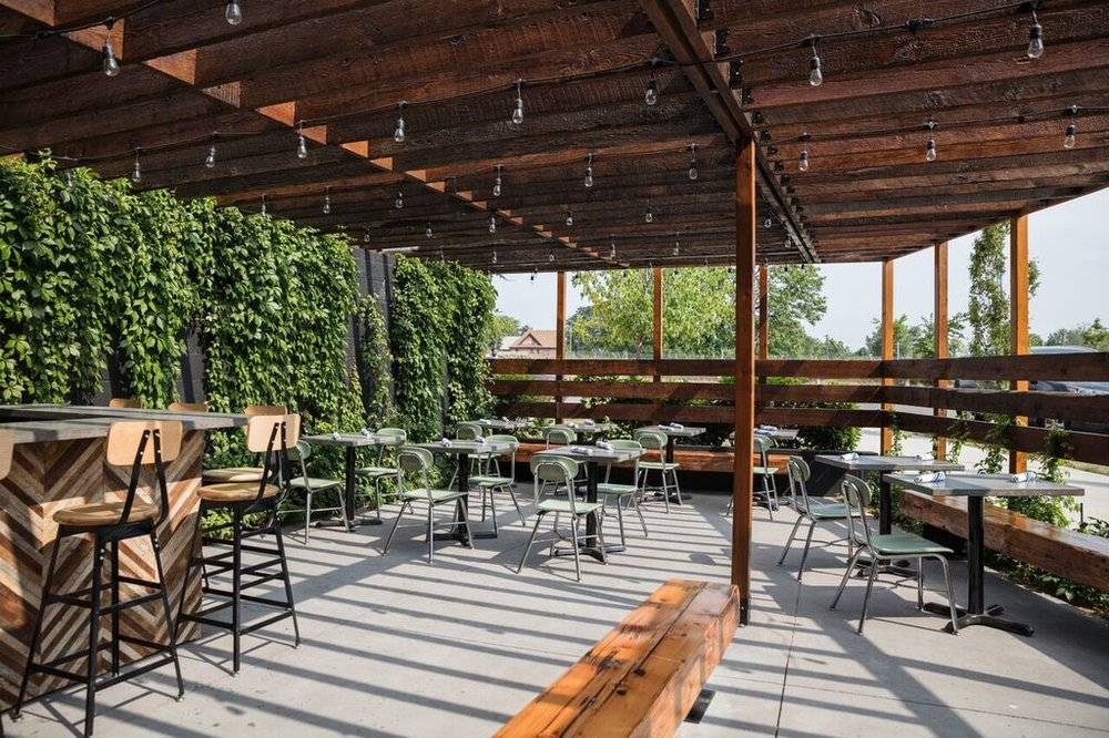 The patio at Gold Cash Gold. Photo from Gold Cash Gold's website.